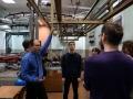 Führung im energieversorgungstechnischen Labor der OmGUPS