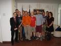 Besuch in der Deutschen Botschaft beim Ständigen Vertreter
