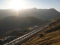 Die neue Passstraße zwischen Taschkent und dem Ferghanatal
