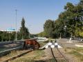Die Weiterbeförderung ist gesichert! (Pionierbahn in Taschkent)