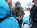 Geldwechsler an der chinesisch-kasachischen Grenze