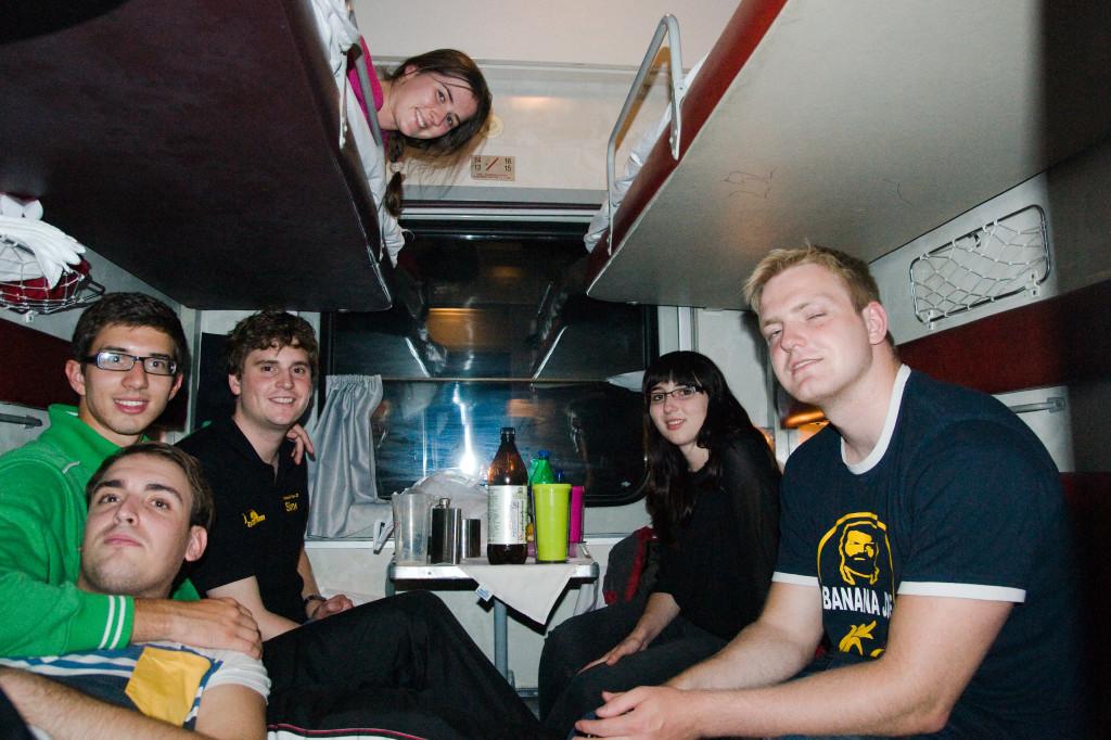 Ein Abend im Zug