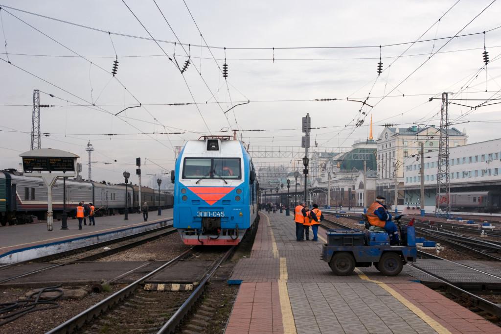 Kurzer Aufenthalt in Krasnojarsk