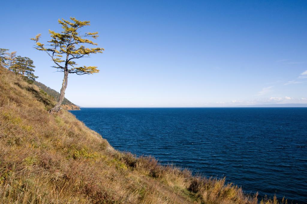 Am Ufer des Baikalsee