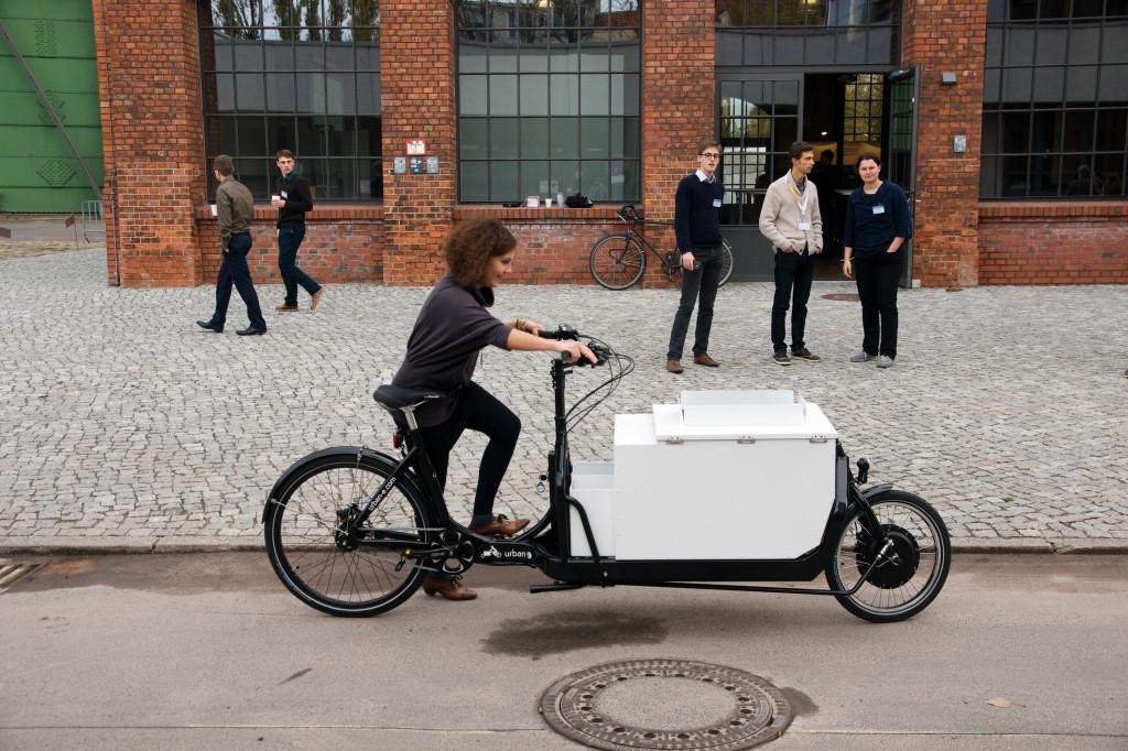 Ich ersetze ein Auto - Mit dem Lastenrad über den EUREF Campus