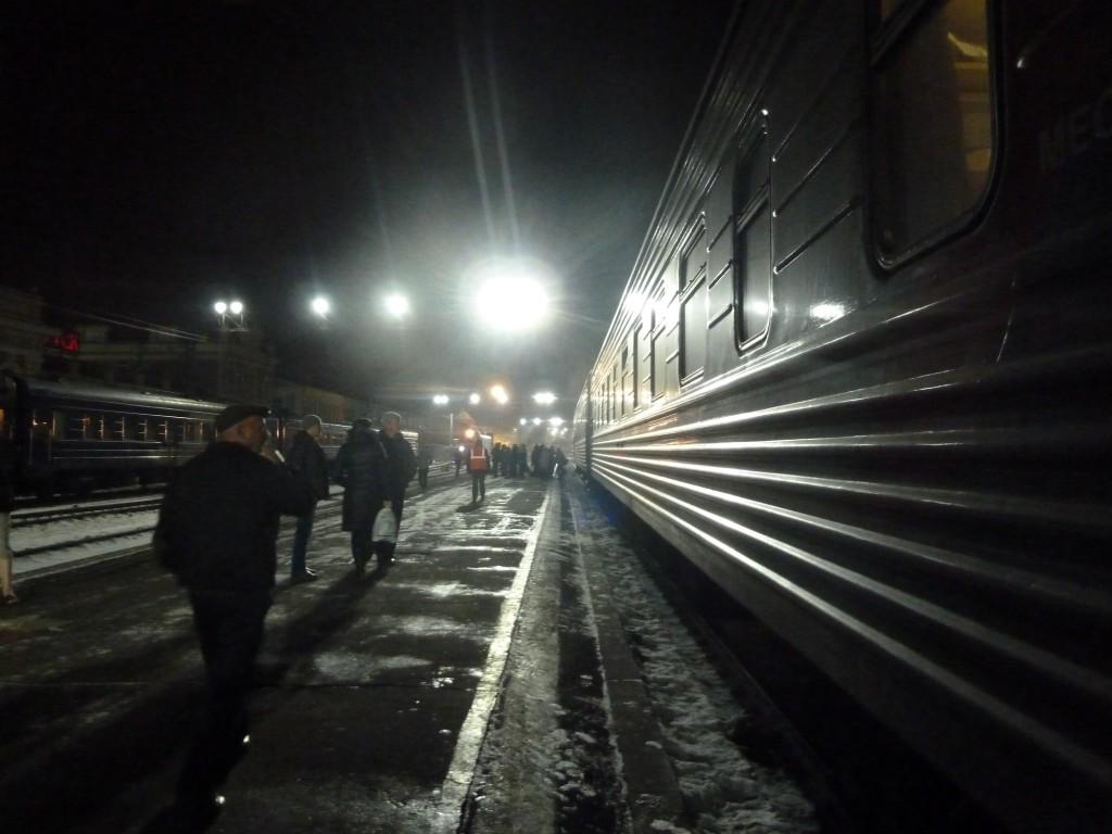 Am Abend in Irkutsk