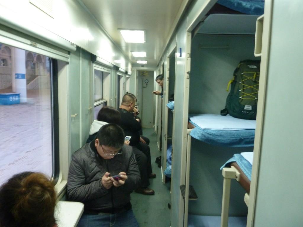 Hard Sleeper-Klasse von Manzhouli nach Harbin