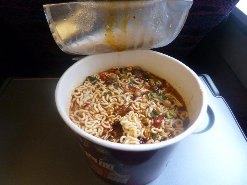 Instantnudeln - unser Grundnahrungsmittel während der Reise