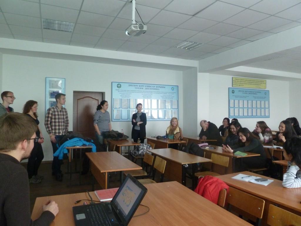 Präsentation unserer Reise an der KazATK