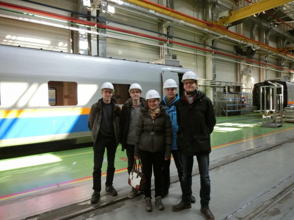 In der Fabrik von Tulpar-Talgo