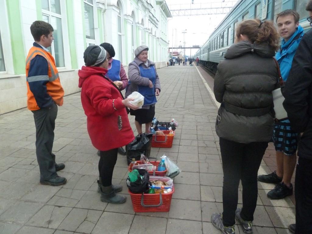 Irgendein Bahnhof in Russland