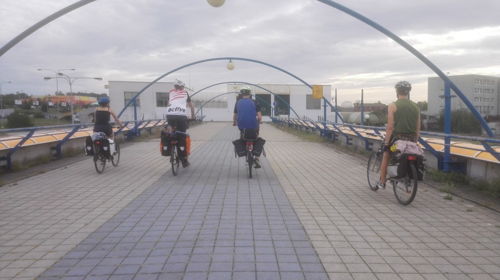 """Fahrrad-Highways"" in Prag"