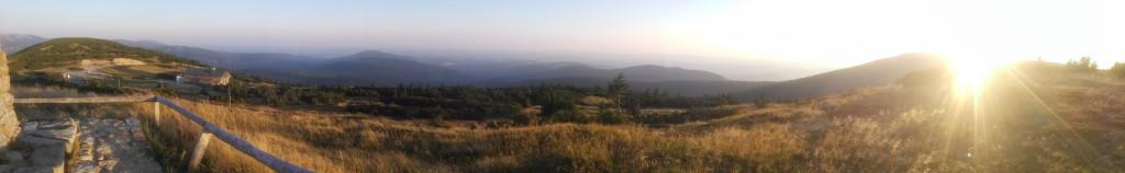 Blick von der Goldhöhe bei Špindlerův Mlýn