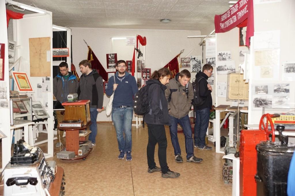 Im Straßenbahn- und Trolleybusmuseum