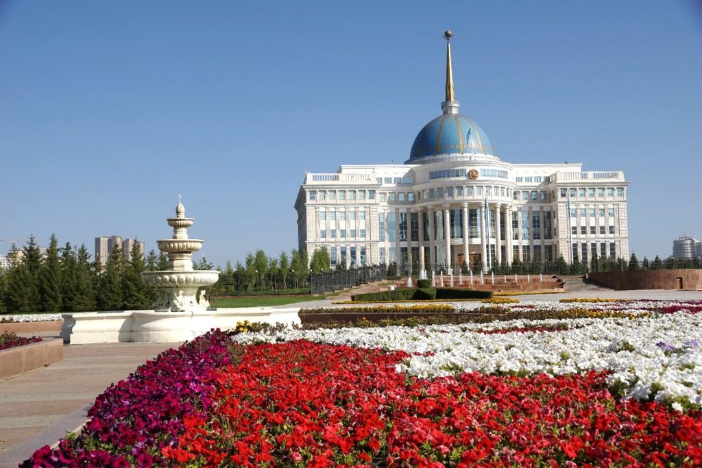 Präsidentenpalast in Astana