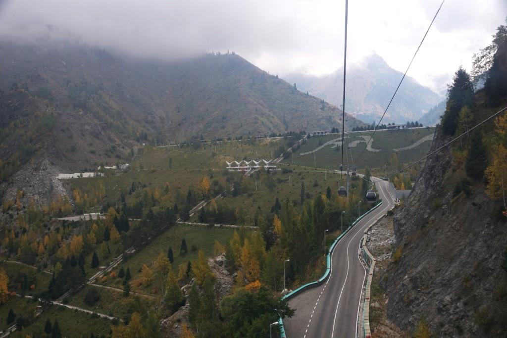 Ausflug ins Hochgebirge per Seilbahn