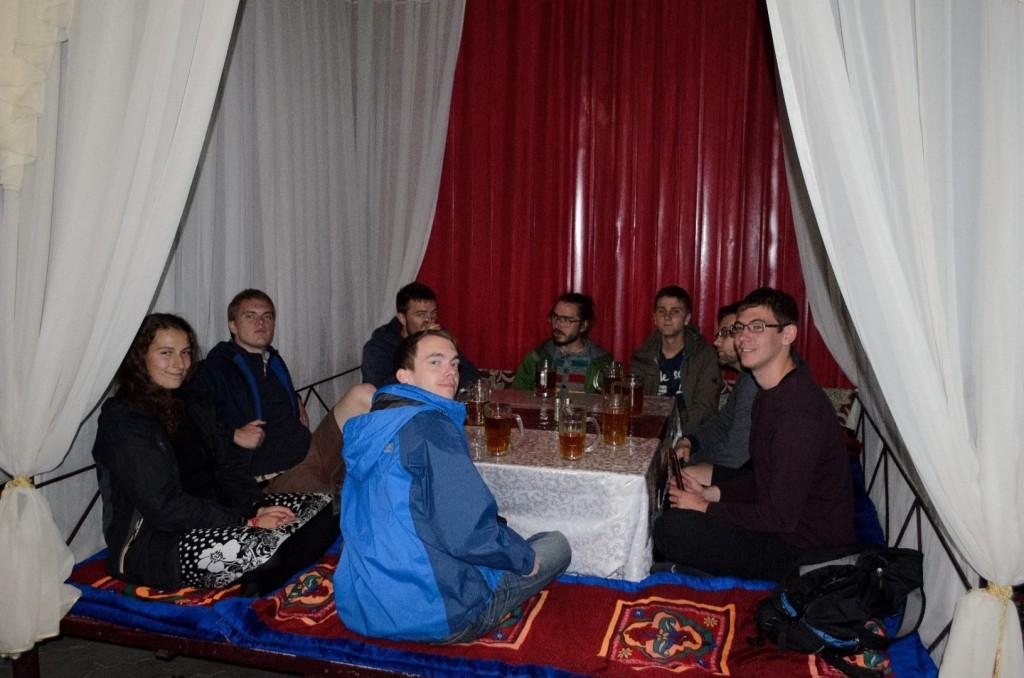 Letztes gemeinsames Abendessen in Tscholponata