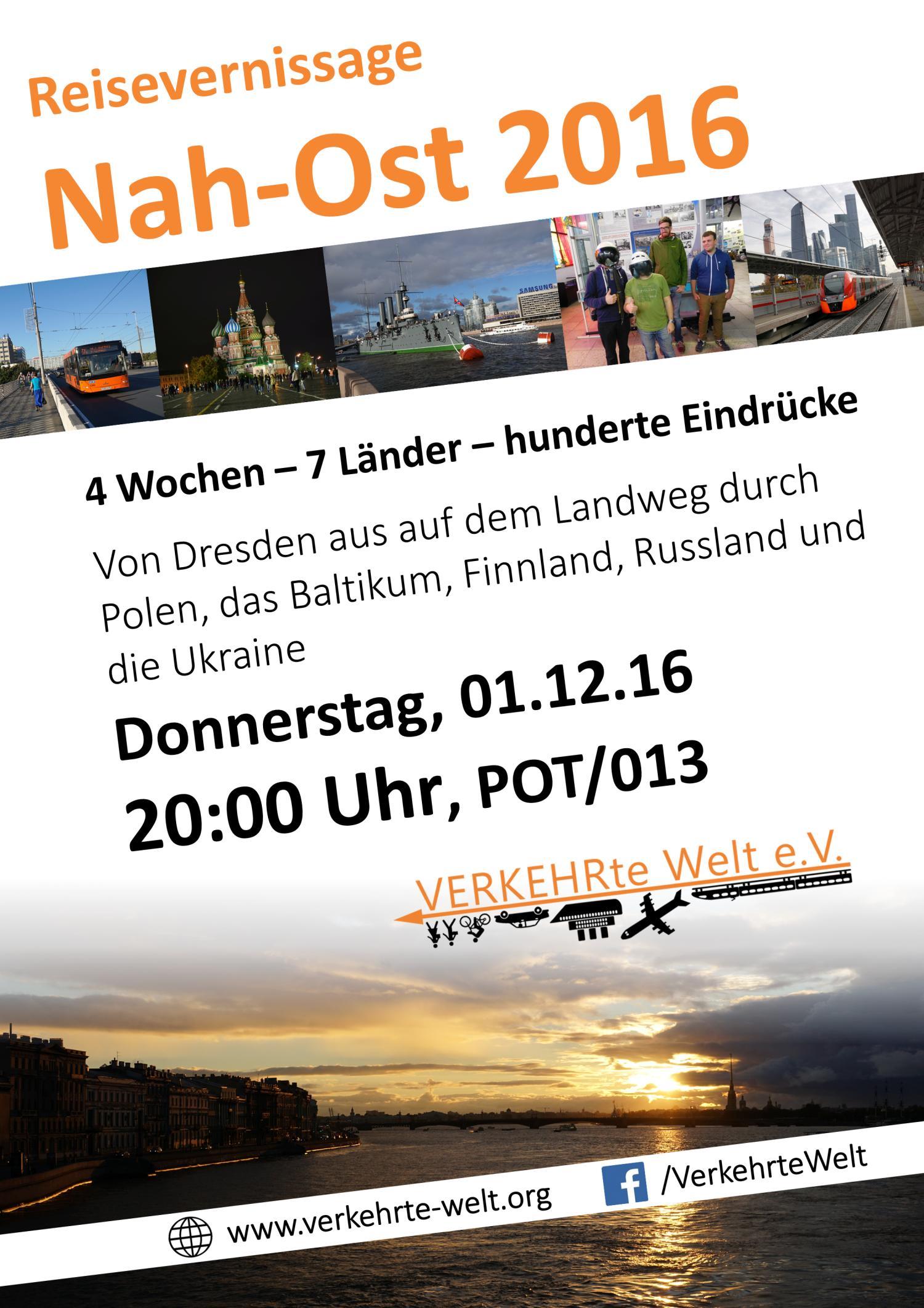 Reisevernissage Nah-Ost 2016