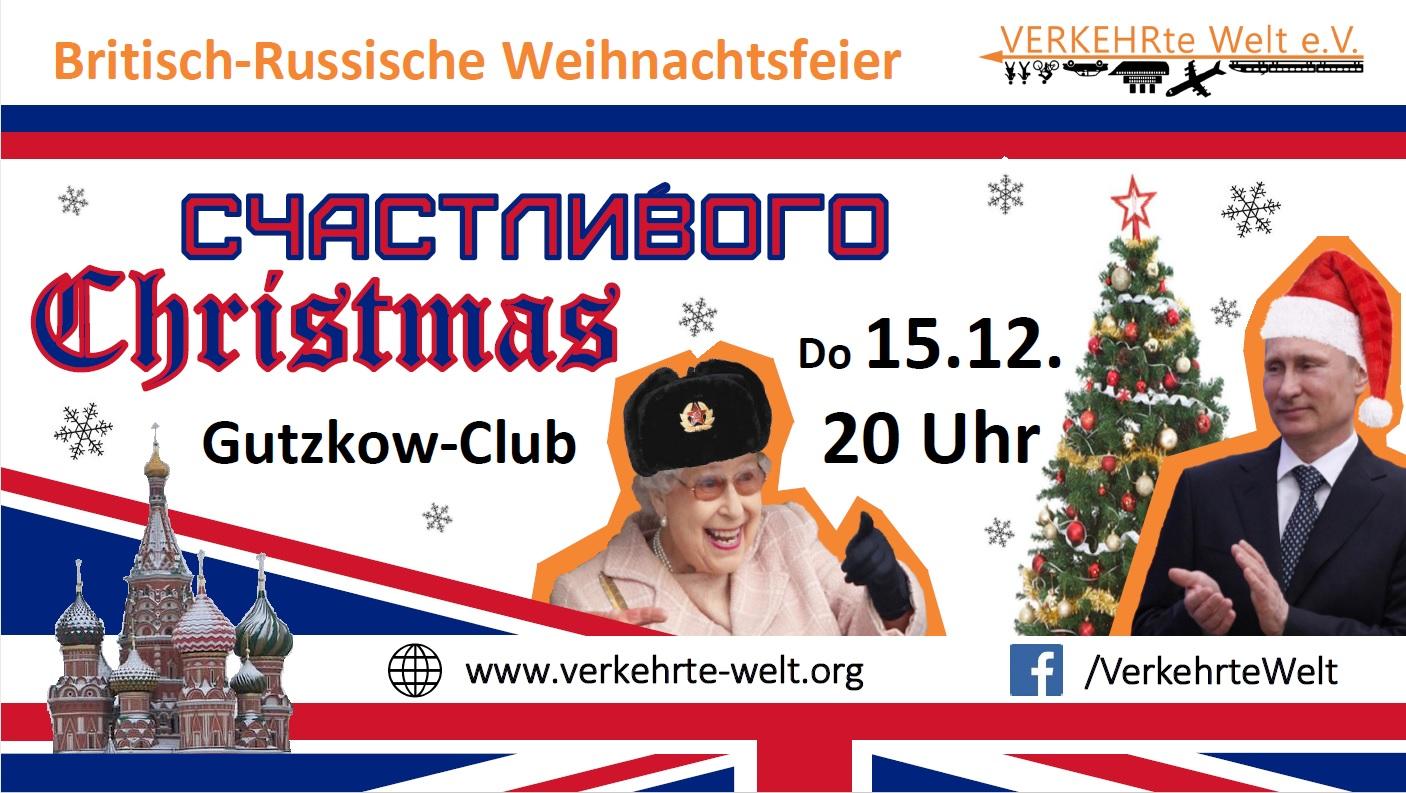 Russisch Britische Weihnachtsfeier am 15. Dezember 2016