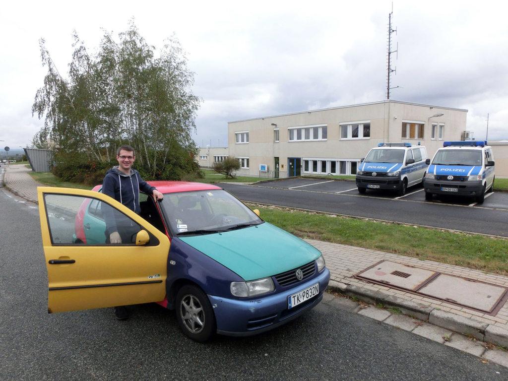Unfreiwilliger Zwischenstopp bei der Autobahnpolizei in Görlitz