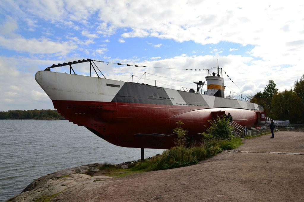 U-Boot-Museum auf der Festungsinsel Suomenlinna