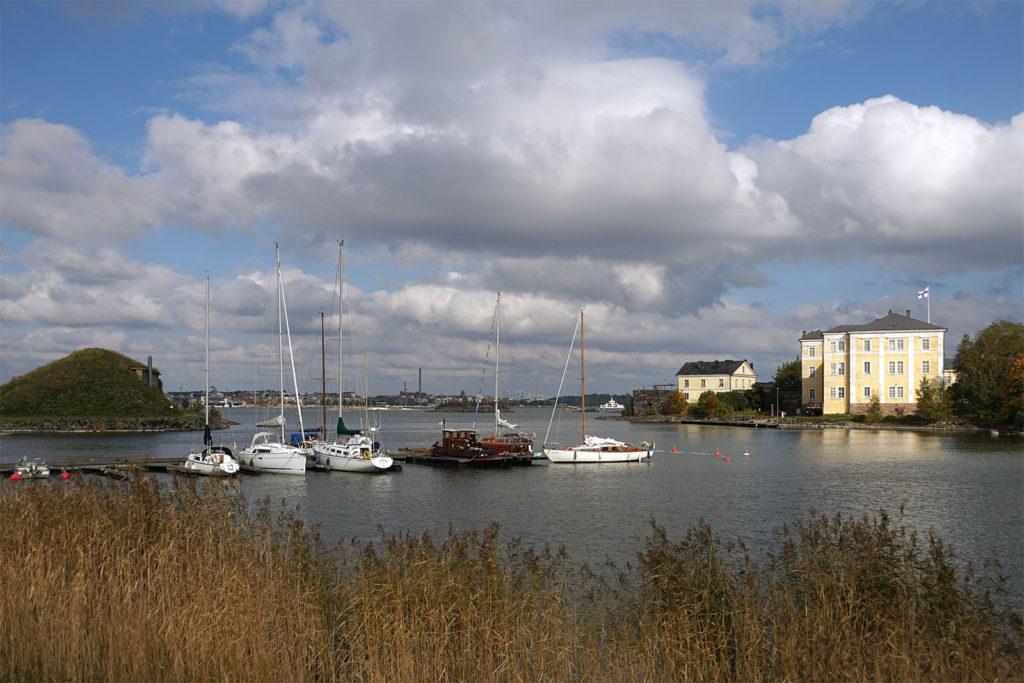 Auf der Festungsinsel Suomenlinna