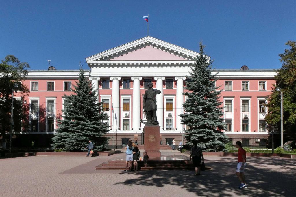 In der Innenstadt von Kaliningrad