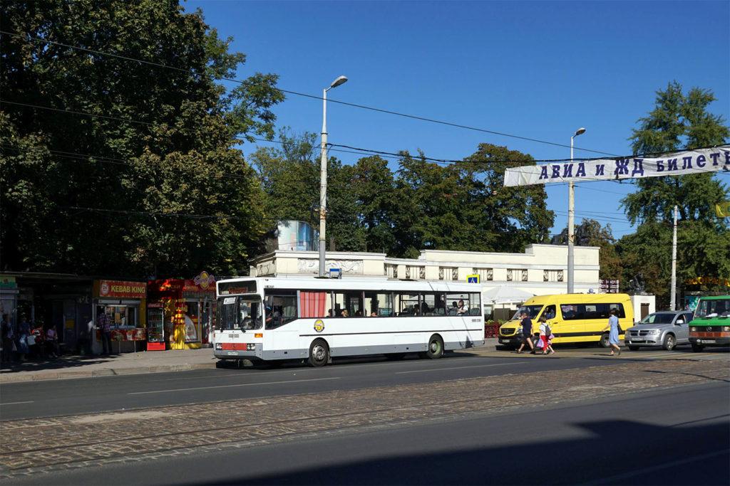 Bus und Marschrutka in Kaliningrad