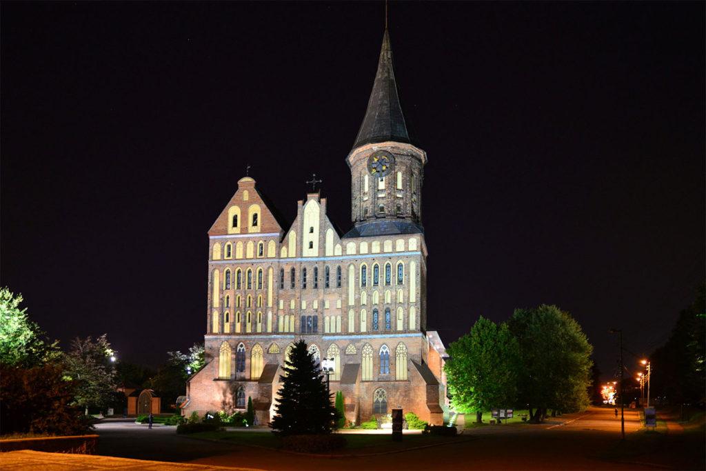 Die wiederaufgebaute Kathedrale von Königsberg