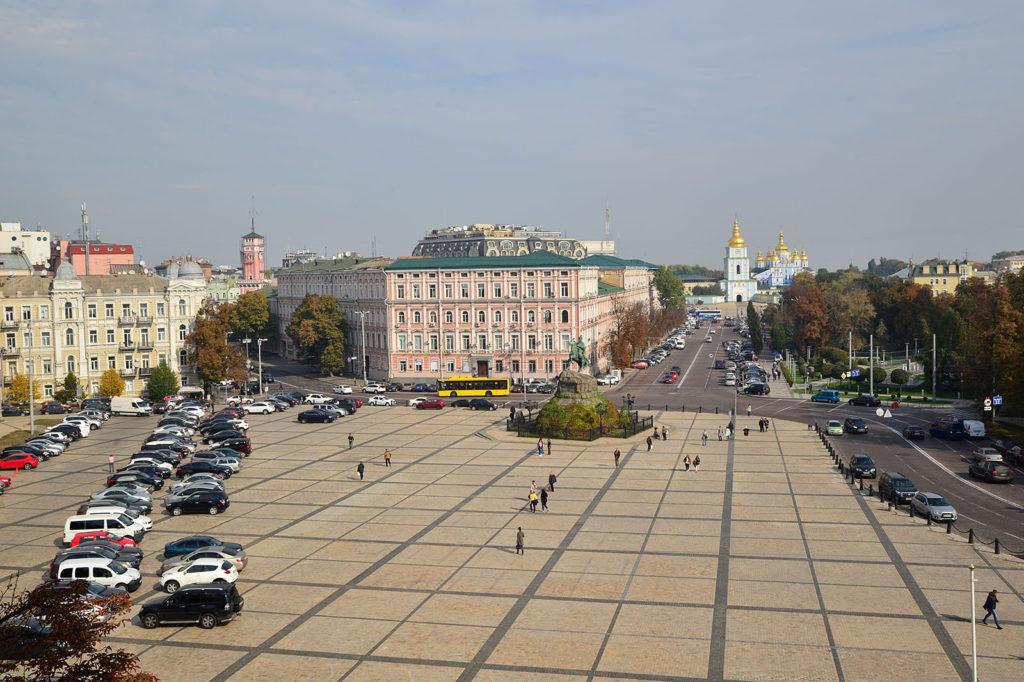 Innenstadt von Kiew