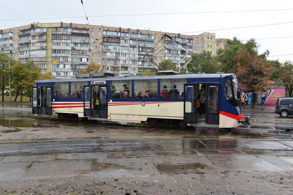 Straßenbahn in Kiew