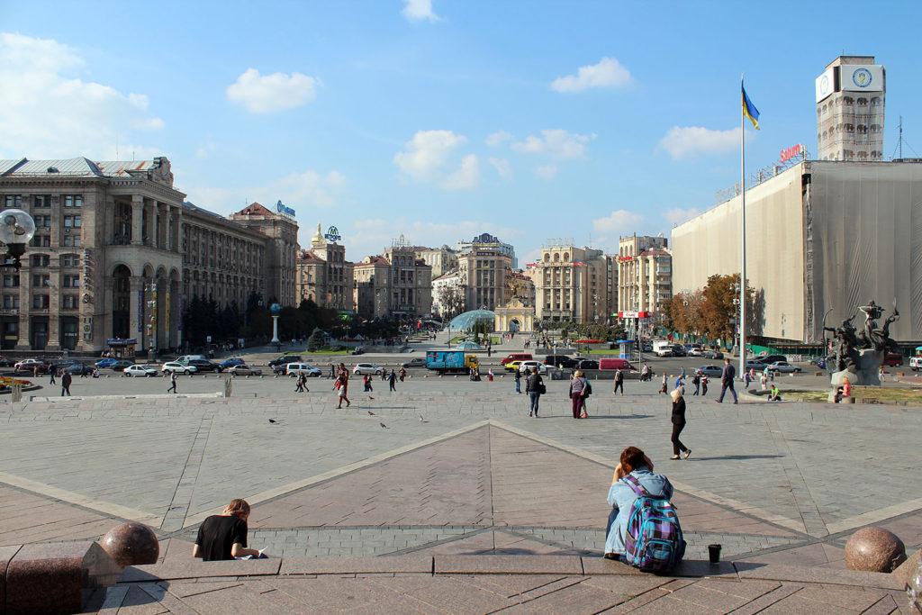 Der Maidan in Kiew