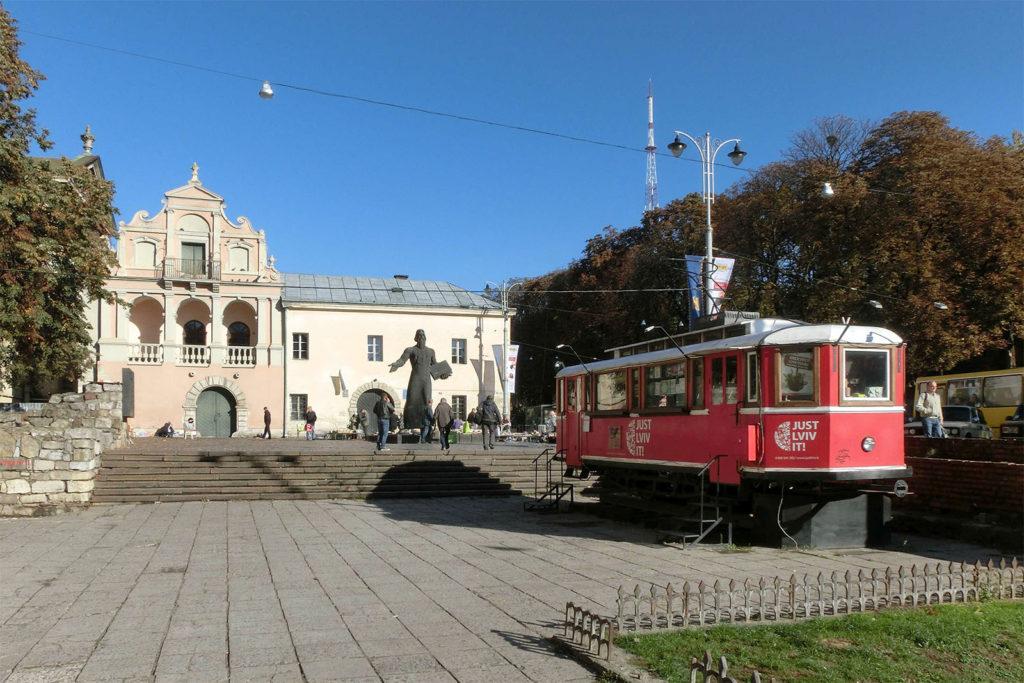 Innenstadt von Lemberg