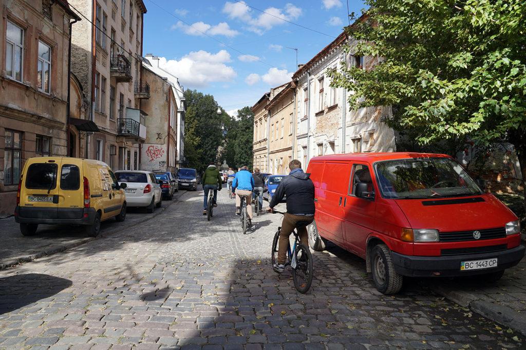 Fahrradtour durch Lemberg