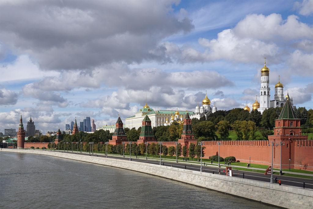 Der Kreml im Moskau