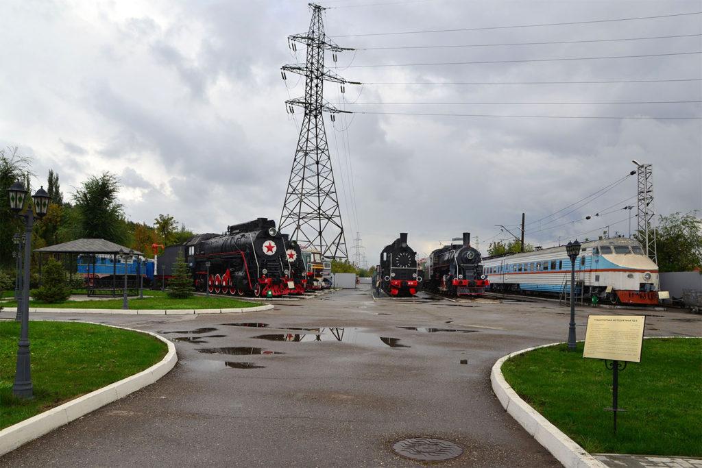 Eisenbahnmuseum Samara