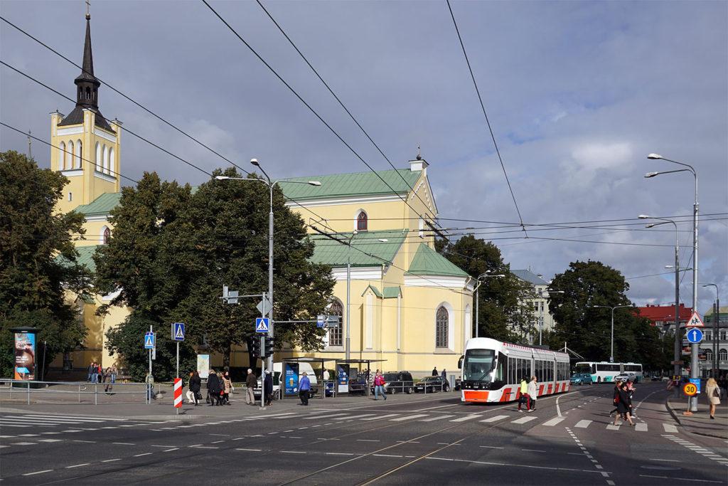 Modene Straßenbahn in Tallinn