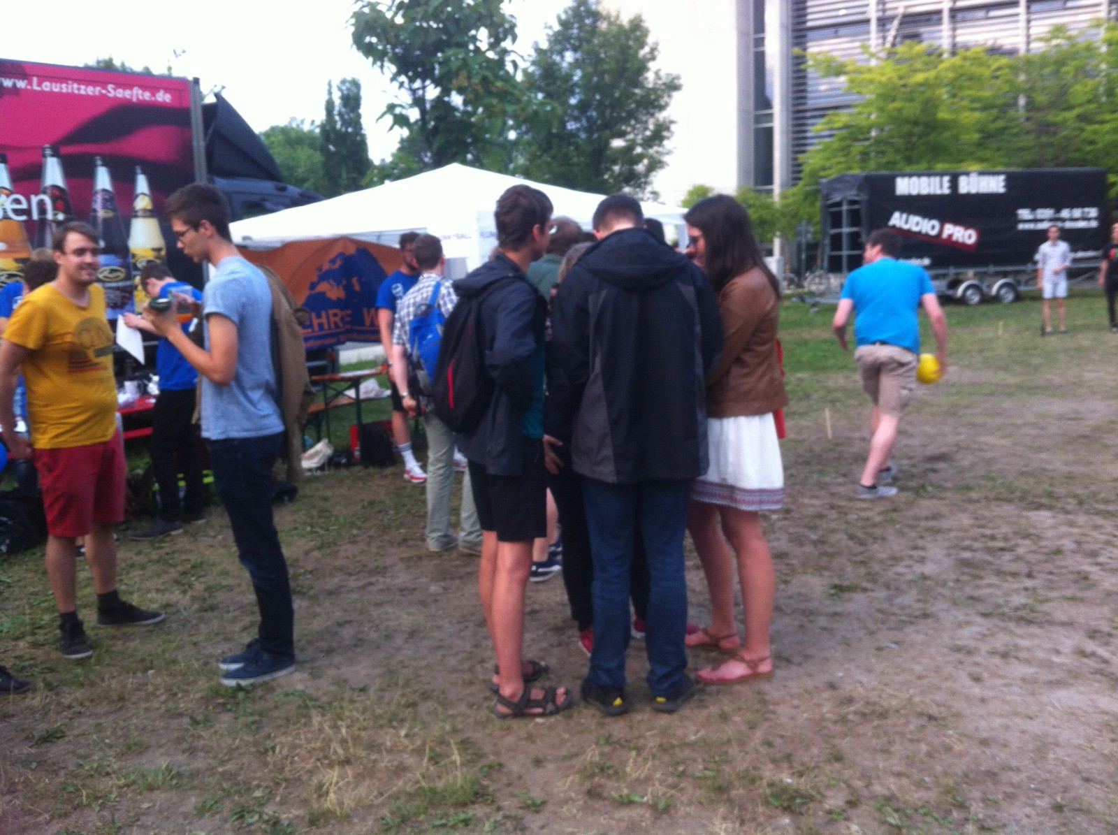 Flunkyball auf dem FSR-Sommerfest 2017